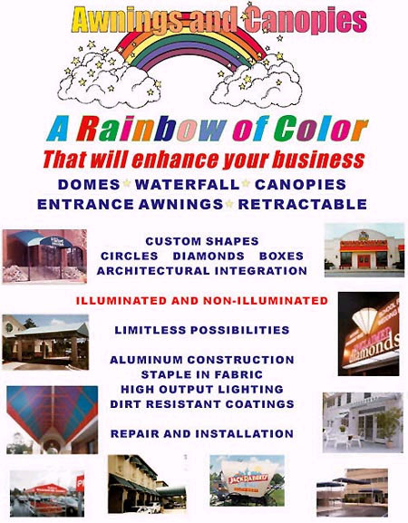 Signs Las Vegas Com Awnings And Canopies Signs Las